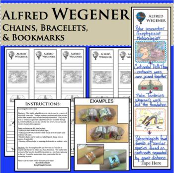 ALFRED WEGENER - WebQuest in Science - Famous Scientist - Differentiated