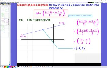 ALG 07 Length and Mid-point
