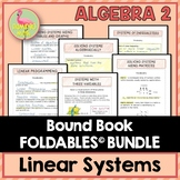 Linear Systems and Inequalities FOLDABLES™ (Algebra 2 - Unit 3)
