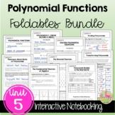 Polynomials FOLDABLES™ (Algebra 2 - Unit 5)