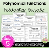 Polynomials FOLDABLES™ Bundle (Algebra 2 - Unit 5)