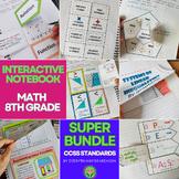 ALGEBRA 1 Interactive Notebooks - All Year- Super Bundle *
