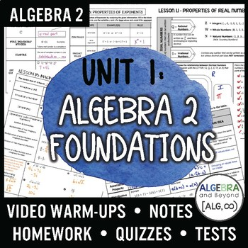 Algebra 2: Algebra 2 Foundations Unit
