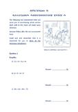 ALGEBRA ASSESSMENT TESTS x2