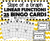 ALGEBRA BINGO - Slope of Linear Functions