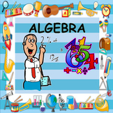 ALGEBRA MADE EASY - REVISION CARDS & QUESTION CARDS - MASSIVE 130 FILES