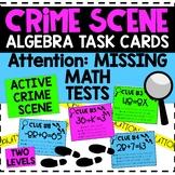 ALGEBRA Crime Scene