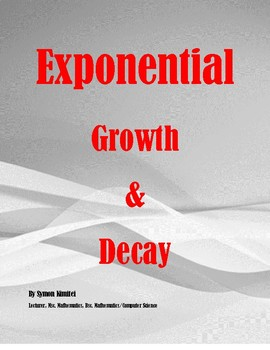 EXPONENTIAL GROWTH AND EXPONENTIAL DECAY With Examples