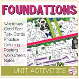 ALGEBRA FOUNDATIONS Bundle