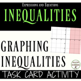 Graphing Linear Inequalities Task Cards for Centers and Ac