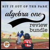 ALGEBRA ONE REVIEW BUNDLE