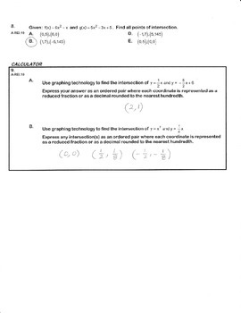 ALGEBRA PBA/EOY PRACTICE SET 6