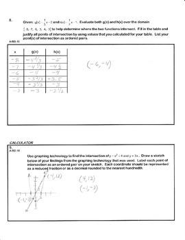 ALGEBRA PBA/EOY PRACTICE SET 8