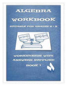 ALGEBRA WORKBOOK 1