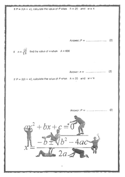 ALGEBRA EXERCISES FOR YOUR STUDENTS