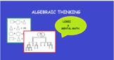 ALGEBRAIC THINKING