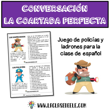 ALIBI GAME FOR SPANISH CLASS (La coartada perfecta)