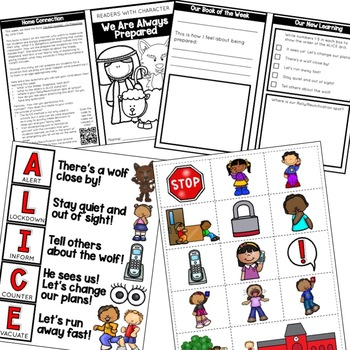 ALICE Drill - Character Education | Social Emotional Learning SEL