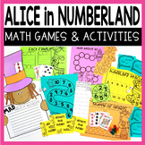 ALICE IN NUMBERLAND MATH CHALLENGES