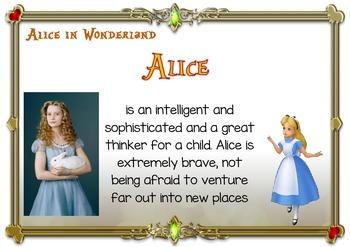 ALICE IN WONDERLAND 2010 Characters