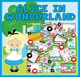 ALICE IN WONDERLAND STORY TEACHING RESOURCES EYFS KS1-2 ENGLISH DISPLAY