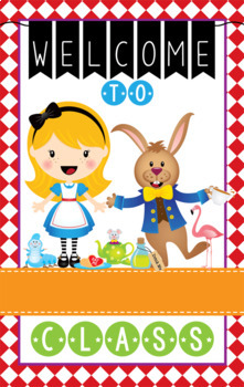 ALICE - Classroom Decor: WELCOME Banner - Medium, you personalize