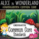 """ALICE - Kindergarten Common Core Standards """"I CAN"""" format"""