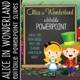 ALICE - PowerPoint, Open House, Curriculum Night, Meet the Teacher