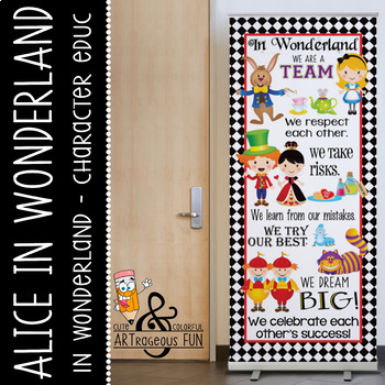 ALICE - Classroom Decor: LARGE BANNER, In Our Class
