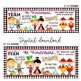 ALICE in Wonderland - Classroom Decor: LARGE BANNER, In Wo