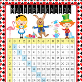 ALICE - Classroom Decor: Multiplication POSTER - size 24 x 36