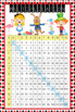 ALICE in Wonderland - Classroom Decor: Multiplication POST