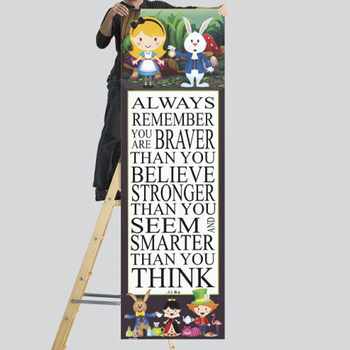ALICE - Classroom Decor: X-LARGE BANNER, Always Remember