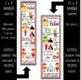 ALICE - Classroom Decor: X-LARGE BANNER, In Wonderland