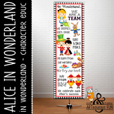 ALICE - Classroom Decor: X-LARGE BANNER, In Wonderland
