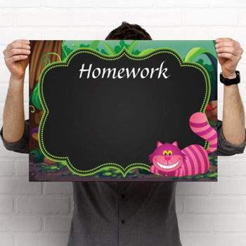 ALICE - Classroom Decor: editable chalkboard  POSTERS / Set B