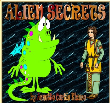ALIEN SECRETS by Annette Curtis Klause, A Kids Wings Outer This World Novel