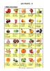 ALIMENTATION - ACTIVITE - LES FRUITS