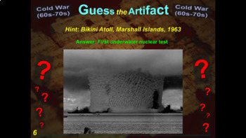 "ALL 10 ""Guess the Artifact"" intro/review games for High School World History"