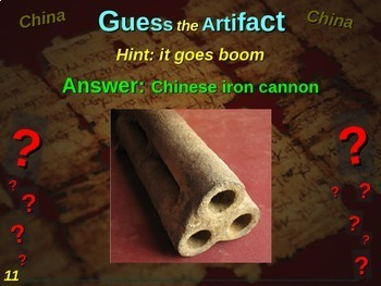"""ALL 12 """"Guess the artifact"""" games for 6th grade Ancient Civilizations (History)"""