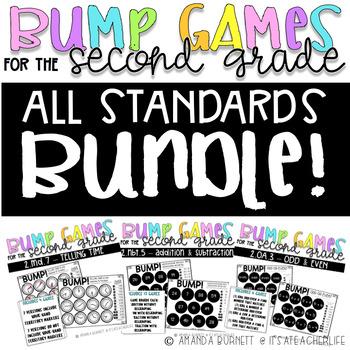 ALL 2ND GRADE STANDARDS  GROWING BUNDLE   BUMP Games