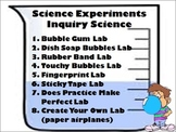 ALL 8 Scientific Method Inquiry Labs*** with worksheets!