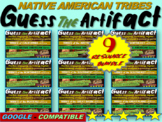 """ALL 9 Native American """"Guess the artifact"""" games: PPT w pictures & clues"""