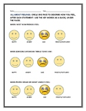ALL ABOUT FEELINGS: A SURVEY FOR GRADES 2-6