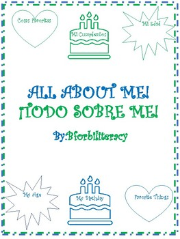 ALL ABOUT ME!-BILINGUAL