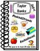 ALL ABOUT ME DOODLE NOTEBOOK BACK TO SCHOOL ACTIVITY