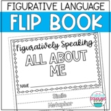 ALL ABOUT ME Figurative Language Flip Book - Back to School or Open House