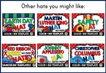 BACK TO SCHOOL ACTIVITIES KINDERGARTEN ALL ABOUT ME CRAFT HAT