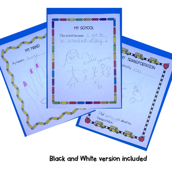 ALL ABOUT ME - Individual Sheet and Book