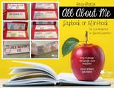 ALL ABOUT ME Lapbook/Mini-book {for kinders or special learners}
